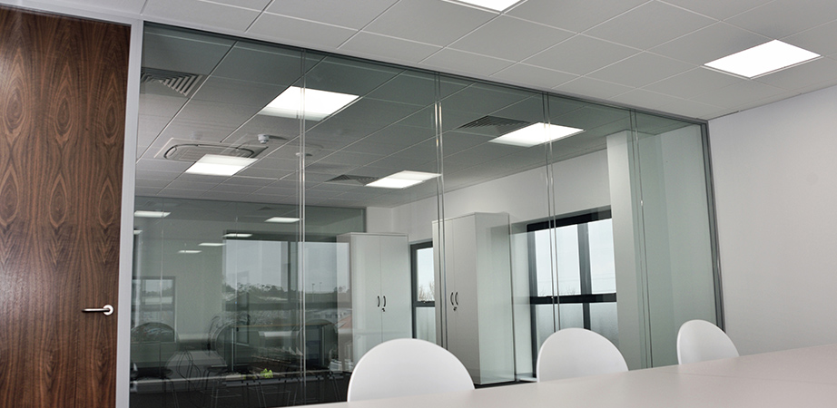 glass partitions Guildford