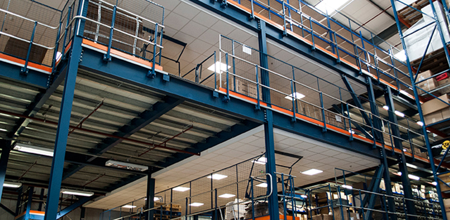 Commercial mezzanine floors Hampshire