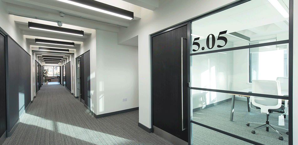 Fire Protected Glass Partitions in Basingstoke