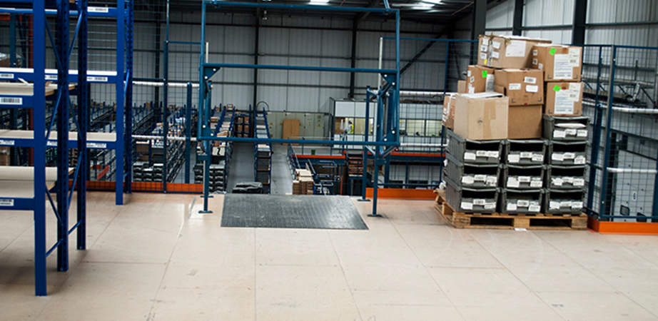 Commercial mezzanine floors Dorset