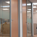 Glass office partitions Hampshire