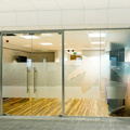 Office glass partitions Hampshire